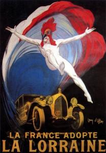 Lorraine-Dietrich-par-jean-dylen-208x300 La France adopte la Lorraine Affiche