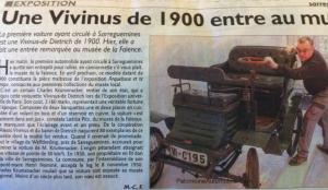 vivinus-dd1-300x174 Vivinus De Dietrich de 1900 entre au musée Vivinus De Dietrich de 1900