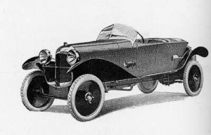 B2 caddy sport(1922) 300 exemplaires construits