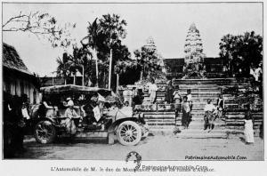 Les-Prouesses-de-lAutomobile-au-Cambodge-LD10-300x198 Voyage en Lorraine Dietrich du Comte de Montpensier en Indochine (1908) Divers la Lorraine Dietrich du Comte de Montpensier en Indochine