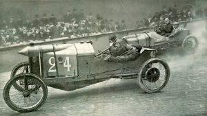 1909 Velodrome d'Hiver, Paris Sizaire Naudin