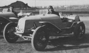 Tatra typ 12 gréée en sport pour la Targa Florio 1925