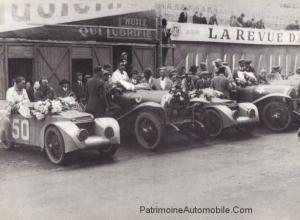 1925_Le_mans_arrivee-300x220 Lorraine Dietrich aux 24h du Mans de 1925 Divers Lorraine Dietrich aux 24h du Mans de 1925