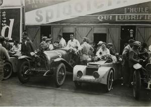 925. Les 24 heures du Mans. Courcelles Rossignol et Lorraine-Dietrich
