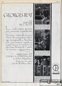 Georges-Irat-pub-vogue-216x300 Georges Irat, voiture de l'élite Divers