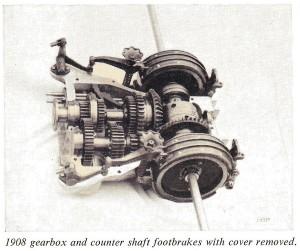 mercedes boite de vitesses 1908