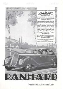 Affiche-1937-1-214x300 PANHARD & LEVASSOR Dynamic Coupé de 1936 Divers Voitures françaises avant-guerre