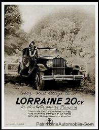 Lorraine-20-cv-avez-vous-essayez-Publicite-Automobile-de-1933-228x300 Lorraine 20 CV (types 310/311) Lorraine 20 Cv