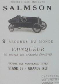 Salmson 9 records du monde