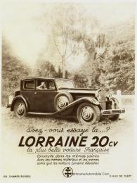 lalorraine20cvpub-225x300 Lorraine 20 CV (types 310/311) Lorraine 20 Cv