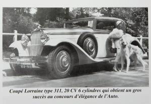 lorraine 20cv concours d'élégance
