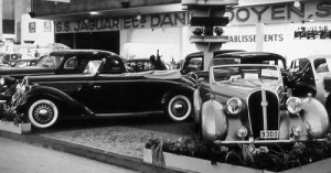 30-Hotchkiss Cabriolet Biarritz 6 cylindres 17 CV -Gauche- Hotchkiss GS-3 Cabriolet Vesters & Neirinck -Droite- Bruxelles 1938 - DSCN3270