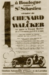Chenard et Walcker 9