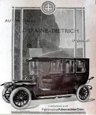 Lorraine-Dietrich-Limousine-16-hp-Pub-papier-de-1912-251x300 Lorraine Dietrich C-HJ Limousine de 1912 par Labourdette Lorraine Dietrich Limousine 1912
