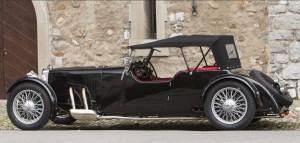 Aston Martin Le Mans 1½-Litre 2ème série de châssis long 'Tourer' 1933 2