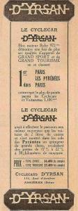 DYrsan-pub-3-112x300 D'Yrsan type DS de 1925 Divers