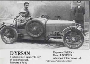 dyrsan-24h-1929-300x215 D'Yrsan type DS de 1925 Divers