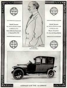 lorraine-cars-1913-m-nicaise-portrait-227x300 Charles Nicaise chez Lorraine Dietrich Charles Nicaise Lorraine Dietrich