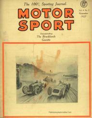 motor-sport-1927-4-236x300 Les Grandes Marques de Course, Lorraine Dietrich dans MotorSport de nov.1927 Lorraine Dietrich dans MotorSport