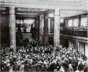 L'inauguration-de-la-galerie-des-Portiques-le-5-avril-1929-aux-144-146-avenue-des-Champs-Élysées-300x247 Lorraine Dietrich sur les Champs Elysées 1928 Lorraine Dietrich Lorraine Dietrich sur les Champs Elysées