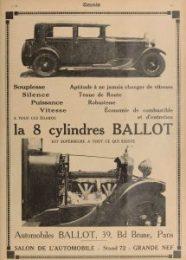 Omnia-ballot-8-cylindres-215x300 Ballot à Rétromobile 2016 Divers Voitures françaises avant-guerre
