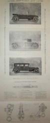 dépliant automobile HARRIS LEON LAISNE chassis 6 et 8 CV 1926 1