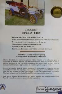 """Brouhot-Type-D-1908-1-2-200x300 Les """"Teuf-Teuf"""" à Rétromobile (De Dion-Bouton, Richard Brasier, Corre, Brouhot, Grégoire, Renault) Divers Voitures françaises avant-guerre"""