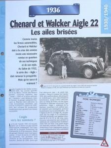 Chenard et Walcker Aigle (2)