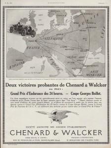 Chenard-et-Walcker-victoires-1923-225x300 Chenard et Walcker Type 11P de 1933 Divers Voitures françaises avant-guerre