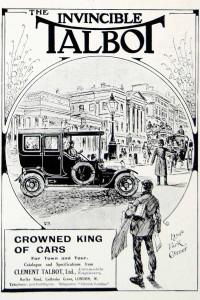 Clément-Talbot pub 1911