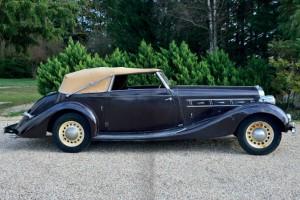 Delage-D8-1936-5-300x200 Delage D8-120 cabriolet de Villars de 1936 Divers Voitures françaises avant-guerre