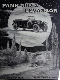 Panhard-Levassor-1923-pub-225x300 Panhard Levassor X33 de 1922 Divers Voitures françaises avant-guerre