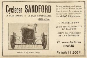 Sandford-doc-1-300x200 Sandford Type FT5 de 1934 Cyclecar / Grand-Sport / Bitza Divers