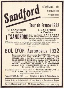 Sandford-doc-3-218x300 Sandford Type FT5 de 1934 Cyclecar / Grand-Sport / Bitza Divers