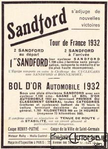 Sandford-doc-3-218x300 Sandford Type FT5 de 1934 Cyclecar / Grand-Sport / Bitza Divers