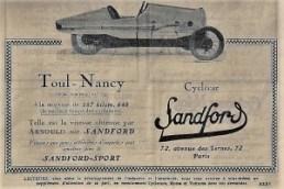 Sandford-doc-5-300x200 Sandford Type FT5 de 1934 Cyclecar / Grand-Sport / Bitza Divers