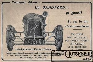 Sandford-doc-6-300x200 Sandford Type FT5 de 1934 Cyclecar / Grand-Sport / Bitza Divers