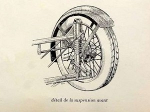 Sandford suspension avant