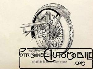 Sandford-suspension-avant-300x224 Sandford Type FT5 de 1934 Cyclecar / Grand-Sport / Bitza Divers