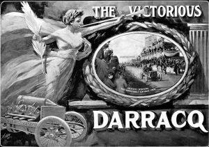 1905-Vanderbilt-Cup-Race-V-Hemery-Darracq-1er-300x211 La Darracq V8 de 1905 Cyclecar / Grand-Sport / Bitza Divers