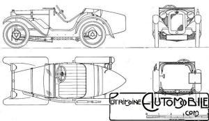 "Austin-7-uslter-dessin-300x175 Austin 7 (seven) ""Ulster"" de 1930 Divers"