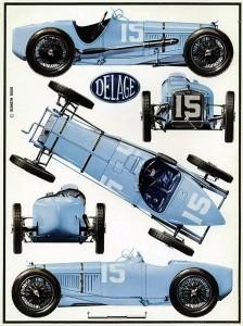 Delage 1500 cc 1926