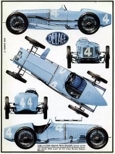 Delage 1500 cc 1927