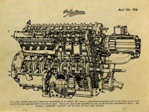 Delage moteur 1500 cc