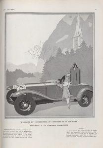 Vogue 1926 Lorraine Dietrich 15cv