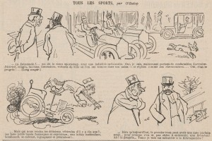 journal Le Rire 1907 2 Lorraine Dietrich