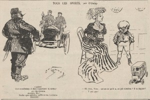 journal Le Rire 1908 2 Lorraine Dietrich