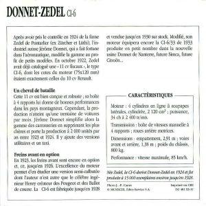 Donnet Zdel type CI 6 fiche 2