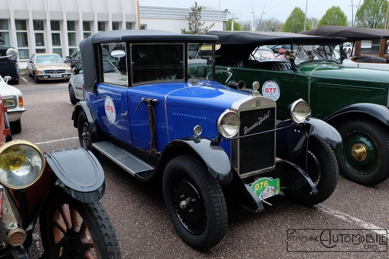 donnet zedel type g2  7 cv cabriolet de 1927