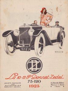 Donnet-Zedel dépliant CI-6 1925 1